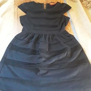 Elle little black dress, size 6.